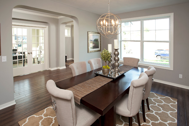 The Broadmoor Fall 2013 Parade Of Homes Model Transitional Dining Room