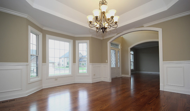 """""""The Carrington Manor"""" traditional-dining-room"""