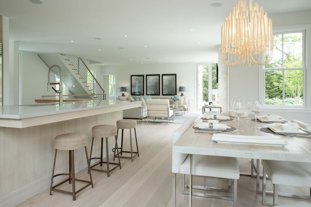 the modern dining room nyc   The Circle East Hampton - Contemporary - Dining Room - New ...