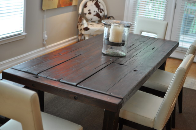 The Clayton Dining Table Eclectic Dining Room Part 72