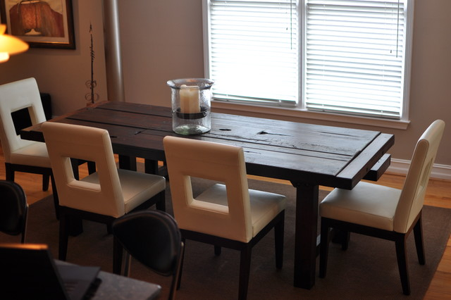 the clayton dining table eclectic dining room atlanta by