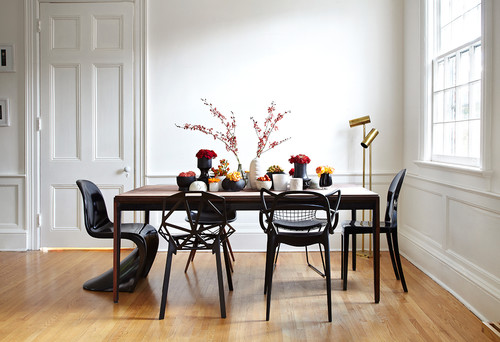 Attirant What Do You Think About Mismatched Dining Chairs?