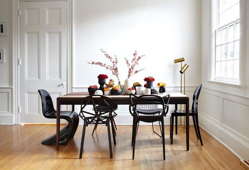 Tavolo Moderno E Sedie Antiche.La Ricetta Semi Infallibile Per Abbinare Tavolo E Sedie