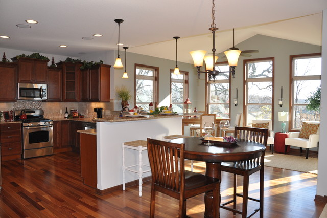 The Cypress - Rolling Ridge Model Home traditional-dining-room