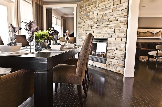 The Georgia contemporary-dining-room