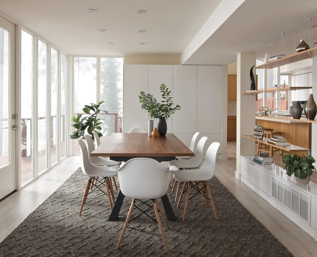 38 Modern Minimalist Dining Room Decor for Space Saver