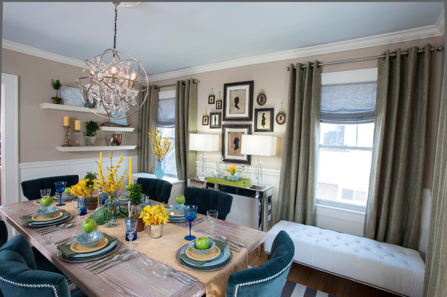 Genial The High Low Project W/Sabrina Soto Traditional Dining Room