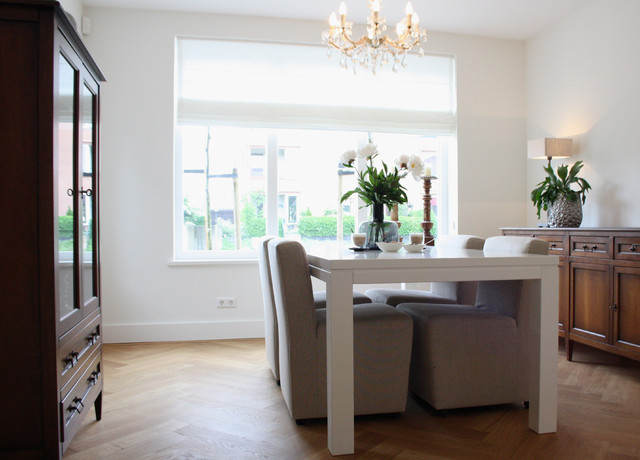 The home of Wendy contemporary-dining-room