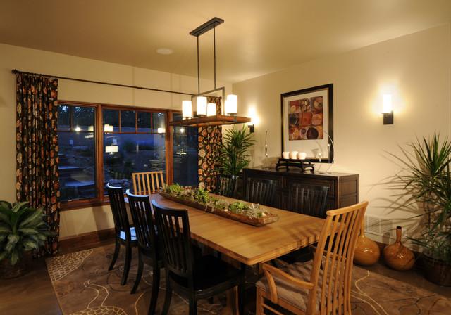 The Kalispel Dining Room contemporary-dining-room