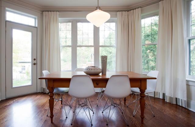 The kingsway vintage modern residence minimalistisch esszimmer