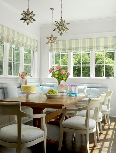 The Ladue House - Traditional - Dining Room - St Louis - by Mitchell Wall Architecture & Design