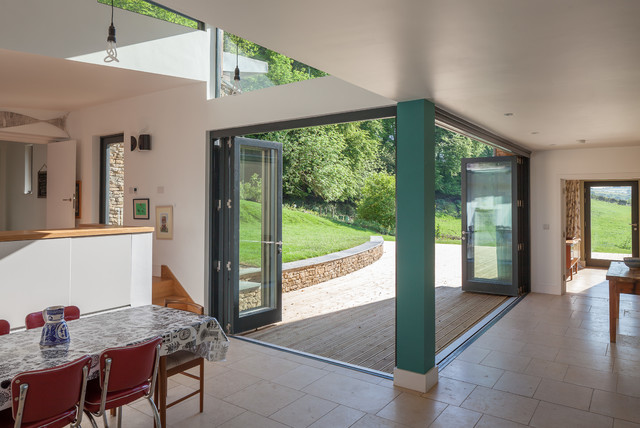 The Larch House - Contemporary - Dining Room - south west - by Millar Howard Workshop