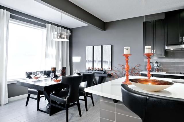 The Leera In Sherwood In NW Calgary AB Contemporary Dining Room Calgar