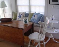 The Little House on Cape Cod beach-style-dining-room