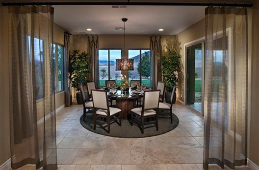 The Masters Plan 4999 Las Vegas Contemporary Dining Room Orange County By Ambrosia Interior Design Inc