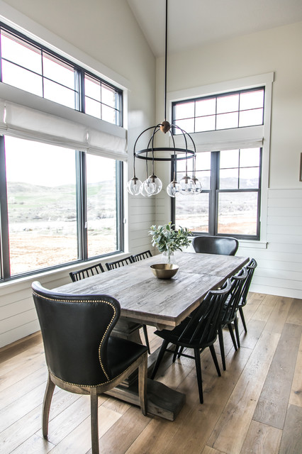 The Mountain Green Modern Farmhouse Farmhouse Dining