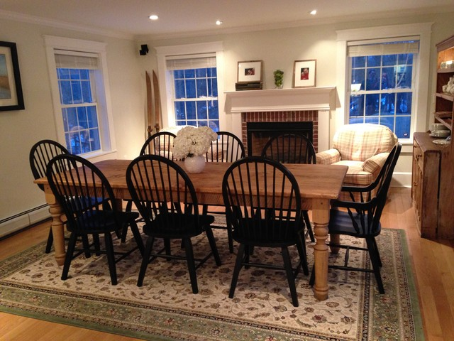 The New England Farm Table Co Featured Tables Traditional Dining Room