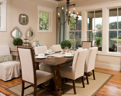 The Palmetto rustic dining room