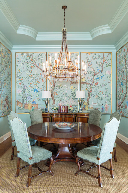 The pecks knoxville tn for todd richesin interiors for Dining room tables knoxville tn