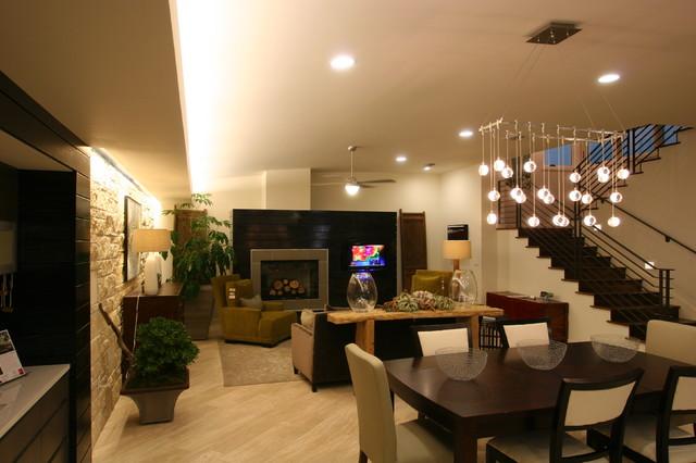 The Platinum Mueller House modern-dining-room