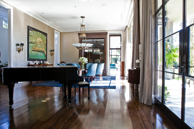 """""""The Reserve"""" 107 Delfern Rd. Holmby Hills traditional-dining-room"""