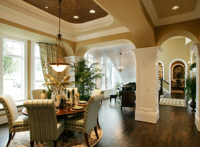 The Retreat at Waters Edge  - Plan M7950A2F2RD-0 traditional-dining-room