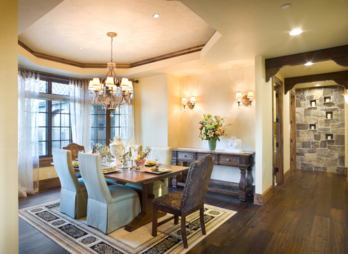 European Manor custom dining room