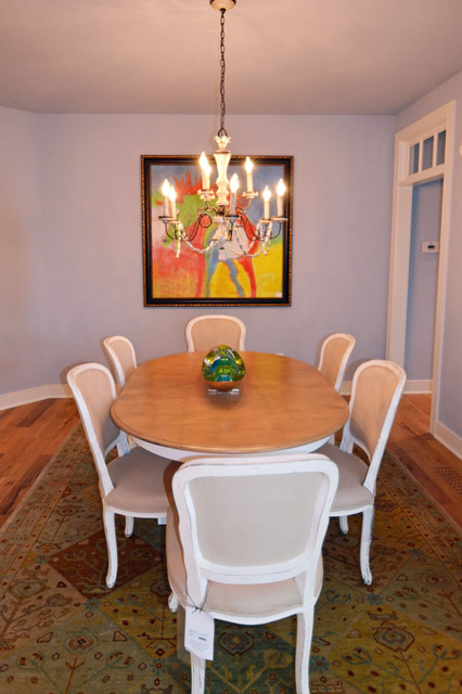The Seaside Model Home Patchen Wilkes contemporary-dining-room
