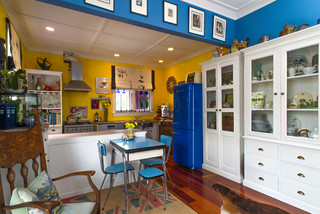The Sheffield House Eclectic Dining Room Auckland By Habitat By Resene