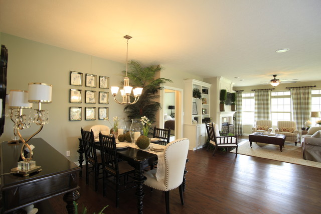 The South Hampton model home by Potterhill Homes traditional-dining-room