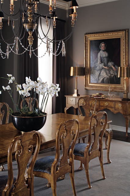 The Stately Homes Collection   Baker Furniture Traditional Dining Room