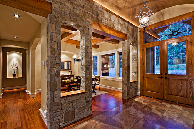 The Stonewood traditional-dining-room