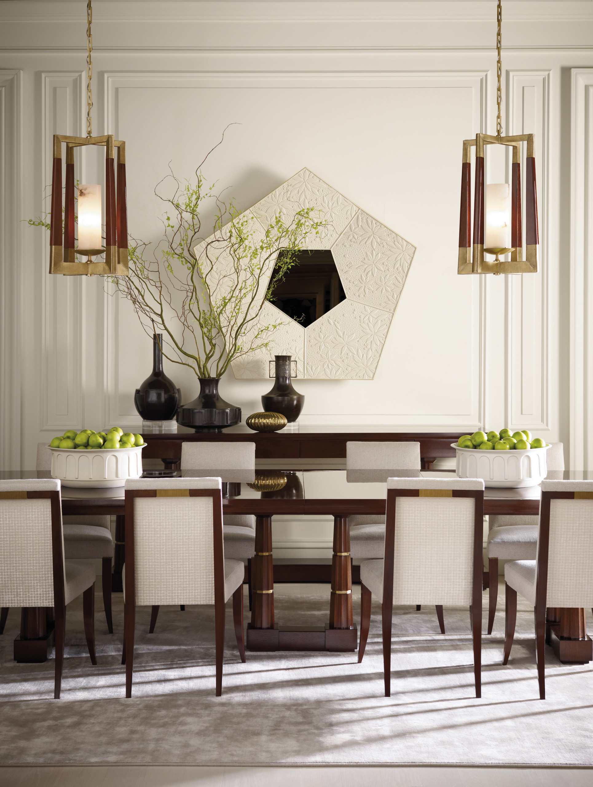 The Thomas Pheasant Collection Baker Furniture Modern Dining Room Milwaukee By Baker Furniture Houzz