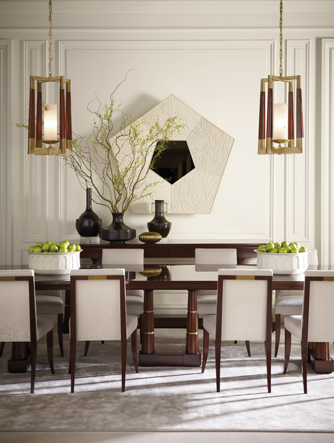 The Thomas Pheasant Collection Baker Furniture Modern Dining Room Milwaukee By