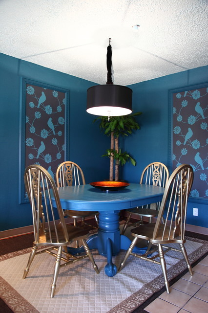 The Upward Bound House by Elizabeth Bomberger eclectic dining room