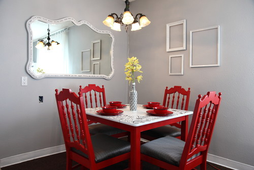 Seaside interiors it 39 s a gray day for Decorate a small dining room