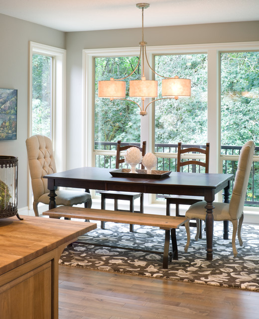 Dining Room Lighting Designs: Transitional