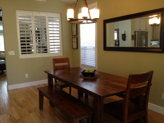 The Vintage Bean traditional-dining-room