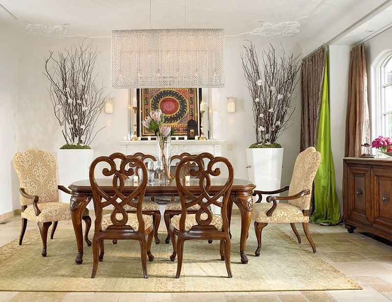 Outstanding Thomasville Dining Rooms Mediterranean Dining Room Download Free Architecture Designs Madebymaigaardcom