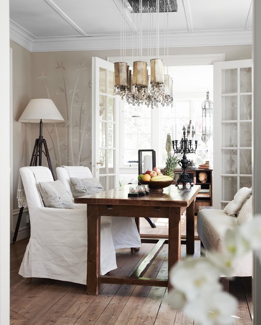 Example of a dining room design in Stockholm