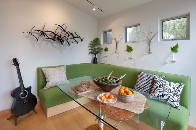 Tiny House: Dining Banquette By Kimball Starr Interior Design Contemporary  Dining Room