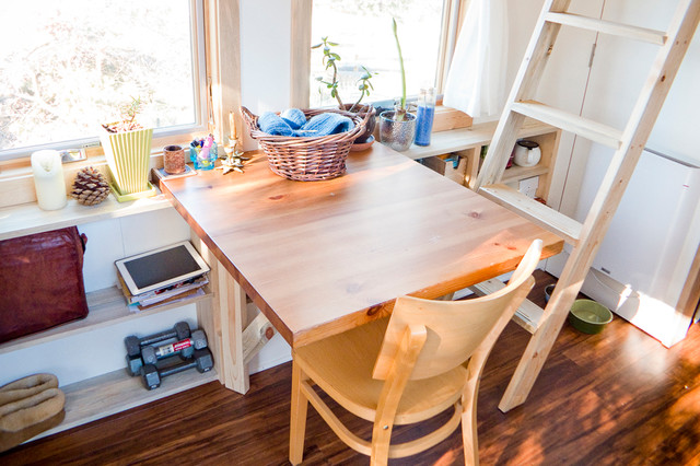 tiny house dining table contemporary dining room san