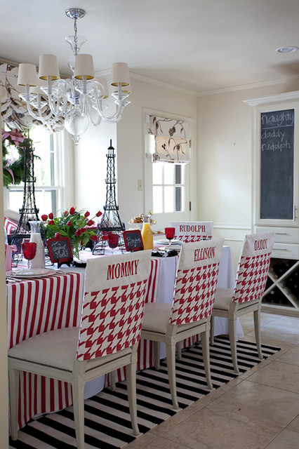 Tobi Fairley Holiday traditional-dining-room