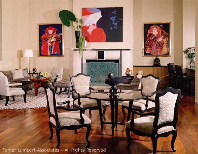 Tomar Lampert Associates contemporary-dining-room