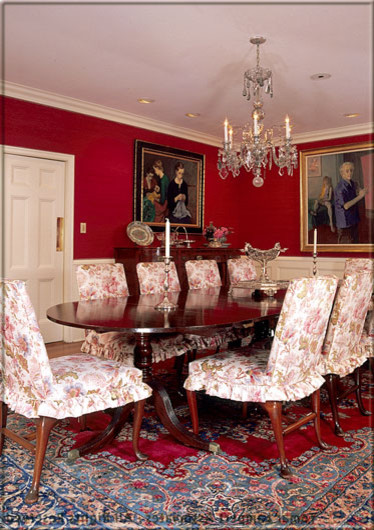 Tomar Lampert Associates - Traditional Portfolio traditional dining room
