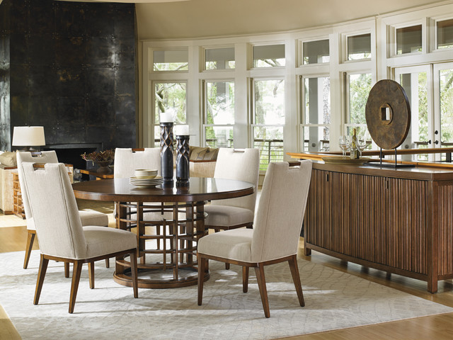tommy bahama island fusion dining collection dining room