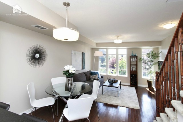 modern condo living room toronto condo home staging of living room contemporary 12955