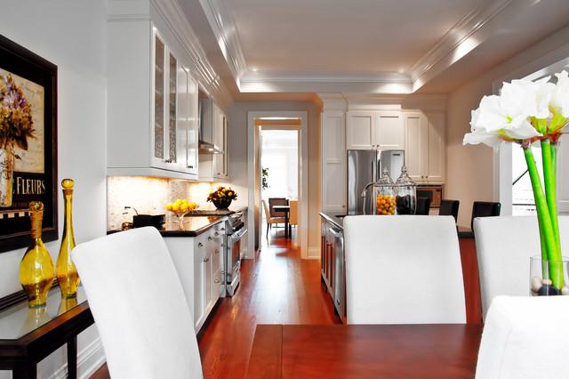Toronto Contemporary New Build contemporary-dining-room