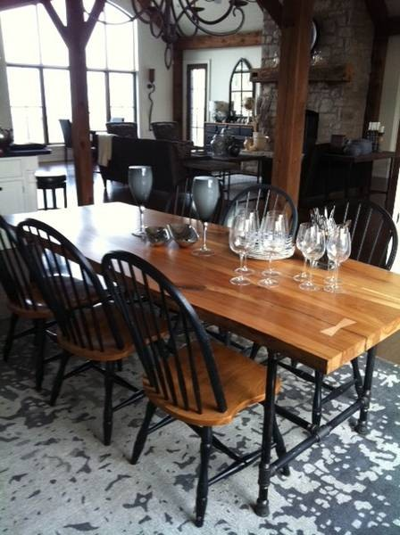 toronto live edge wood dining room tables contemporary dining tables toronto by tree. Black Bedroom Furniture Sets. Home Design Ideas