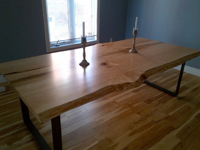 Toronto live edge wood dining room tables traditional dining room toronto by tree green team - Dining room table toronto ...